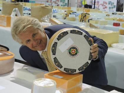 International Cheese Awards 2015 in Nantwich